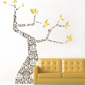 Trees Branches Modern Wall Decal